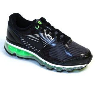 Nike Air Max 2010 (GS) Big Kids Natural/Black Dark Grey Natural Grey Boys Shoes 414309 001 Shoes