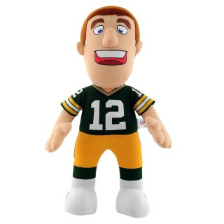 Green Bay Packers Aaron Rodgers 14 inch Plush Doll Collectible Dolls