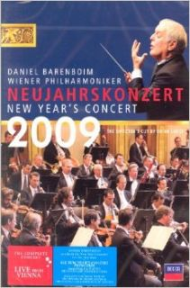 NEW YEAR `S CONCERT 2009 / DANIEL BARENBOIM 2009 binpil Philharmonic New Year's Concert: Daniel Barenboim (Korean edition) (2009): Books