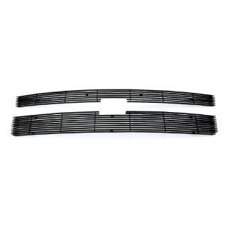 2011 2014 Chevy Silverado 2500HD/3500HD Black Billet Grille Grill Insert # C66831H: Automotive