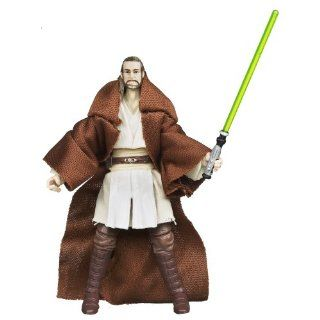 Star Wars the Phantom Menace the Vintage Collection Qui Gon Jinn Figure: Toys & Games