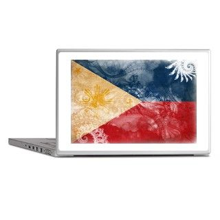 Philippines Flag Laptop Skins by artisticworldflags