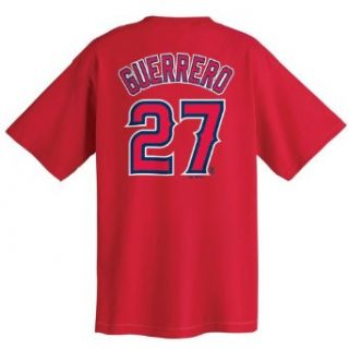 Vladimir Guerrero Los Angeles Angels Name and Number T Shirt (XX Large) : Sports Fan T Shirts : Clothing