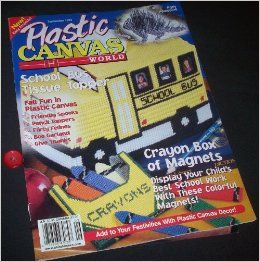 Plastic Canvas World September 1999 (Volume 8, Number 5): Marjorie Pearl: Books