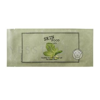 Cucumber & Lettuce Hydro gel Eye Mask Sheet, 5 pcs   Skinfood