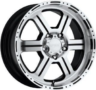 V Tec Off Road 18 Machined Black Wheel / Rim 6x5.5 with a 18mm Offset and a 106.2 Hub Bore. Partnumber 326 8983GBMF18: Automotive
