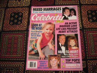 Celebrity Plus Magazine (Vic Damone & Diahann Carroll, Jill St. Johm & Robert Wagner, Fergie's Baby!, Volume 2 Number 6): Selig Adler: Books