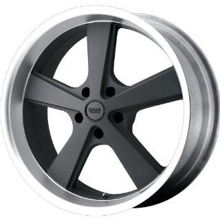 KMC KM701 20x8.5 Gray Wheel / Rim 5x4.75 with a 0mm Offset and a 72.60 Hub Bore. Partnumber VN70128534400: Automotive