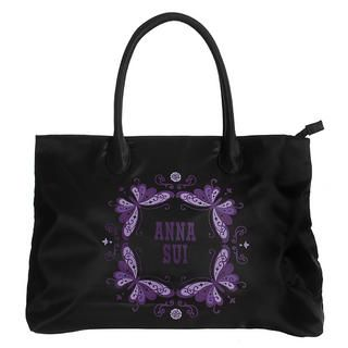 Purple Butterfly Tote Bag, 1 pc   Anna Sui