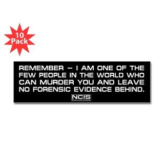 NCIS Abby Bumper Sticker by mediaquotes