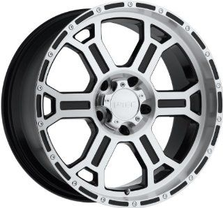 V Tec Raptor 17 Machined Black Wheel / Rim 6x135 with a 25mm Offset and a 87.1 Hub Bore. Partnumber 372 7936GBMF25: Automotive