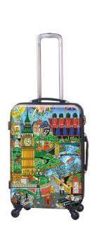 Heys USA Luggage Fazzino Carnevale Veneziana 26 Inch Hardside Spinner, Venezia, 26 Inch Clothing