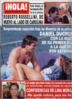 Hola! Magazine Number 2722, Dirk Benedict, Princess Diana, John Kennedy Jr., Christie Brinkley, Melanie Griffith, Antonio Banderas, Jim Carrey, Roberto Rossellini, Single Issue Magazine, Oct 10, 1996 (Number 2722): Antonio Sanchez Gomez: Books