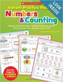 Instant Practice Packets Numbers & Counting Ready to Go Activity Pages That Help Children Recognize, Write, and Learn Their Numbers From 1 to 30 (Teaching Resources) Joan Novelli, Holly Grundon 9780545305877 Books