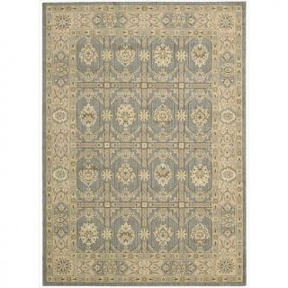 "Nourison Persian Empire Sand or Slate Area Rug   5'3"" x 7'5"""