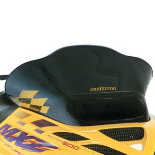 COBRA WINDSHIELD SKI DOO ZX CHASSIS BLACK W/YELLOW CHECKS, Manufacturer: POWERMADD, Manufacturer Part Number: 10322015 AD, Stock Photo   Actual parts may vary.: Automotive