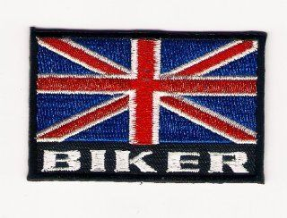British Biker Motorcycle Racing Team Logo Sign Symbol Emblem Embroidered Iron on Patch Iron on Embroidery: Everything Else