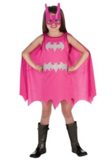 Girls Pink Batgirl (Medium): Toys & Games