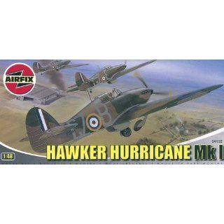 Airfix A04102 148 Scale Hawker Hurricane Mk1 Military Aircraft Classic Kit Series 4 Toys & Games