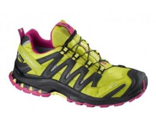 SALOMON XA Pro 3D Ultra 2 GTX Ladies Trail Running Shoes, Green/Black, US10.5: Shoes
