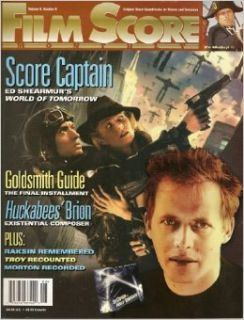 Film Score Monthly, September 2004 (Includes articles on Ed Shearmur, Jon Brion, David Raskin, Jerry Goldsmith, Arthur Morton, and Gabriel Yared, Volume 9, Number 8, Septeember 2004): S. Mark Rhodes, Roger Hall, Douglass Fake, David Coscina Jeff Bond: Book