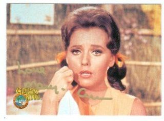 Dawn Wells autographed Gilligans Island card (Mary Ann) 1997 Dart #65: Sports Collectibles