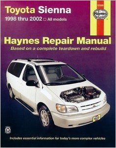 HAYNES REPAIR MANUAL for TOYOTA SIENNA NUMBER 92090: 0038345920905: Books