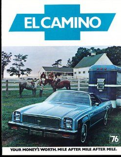 1976 Chevrolet Chevy El Camino and SS Sales Brochure Book : Everything Else