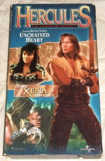 Hercules, The Legendary Journeys: Unchained Heart [VHS]: Kevin Sorbo, Lucy Lawless, Michael Hurst, Robert Trebor, Bruce Seth Green: Movies & TV