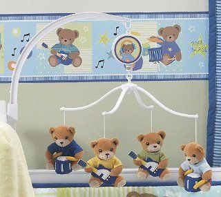 Bedtime Originals Bandstand Bears Musical Mobile   Blue: Baby