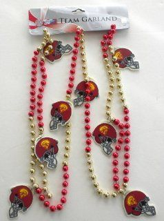 "USC Trojans Licensed Team 72"" Christmas Garland Forever Collectibles"