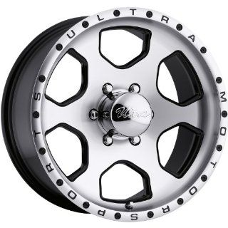 Ultra Rouge 17x8 Machined Black Wheel / Rim 6x5.5 with a 10mm Offset and a 108.00 Hub Bore. Partnumber 175 7883U: Automotive