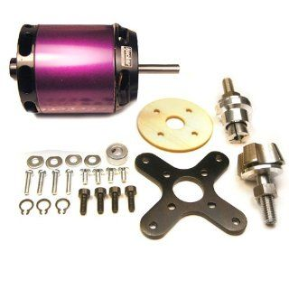 Hacker Brushless Electric Motor A40 12L V2 1500W 410k/V Outrunner RC Aircraft Motor: Toys & Games