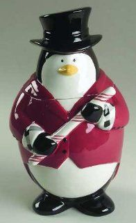 Studio Nova Santa's Little Helpers Penguin Cooke Jar, New in Box : Collectible Figurines : Everything Else