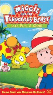Maggie and the Ferocious Beast   Let's Play a Game [VHS]: John McGrath, Tamara Bernier, Dan Chameroy, Kristen Bone, Michael Caruana, Helmut Gau�, Stephen Ouimette, Gerrit Schmidt Fo�, Betty Paraskevas, Michael Paraskevas: Movies & TV