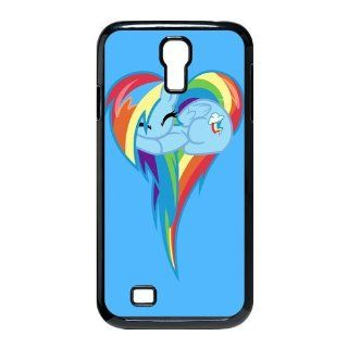 Custom Rainbow Dash Cover Case for Samsung Galaxy S4 I9500 S4 2930: Cell Phones & Accessories