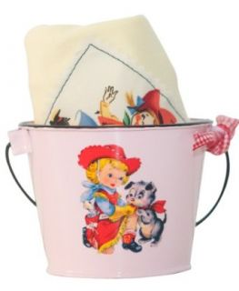 Pink Retro Cowgirl Tee & Bucket: Clothing
