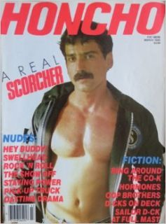 Honcho Magazine March 1985 (Volume 7, Number 12): George Mavety, Graven Image: Books