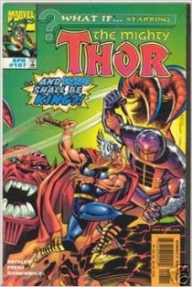 What If? Starring the Mighty Thor, Vol 2 #107 [Comic Book] TOM DEFALCO Books