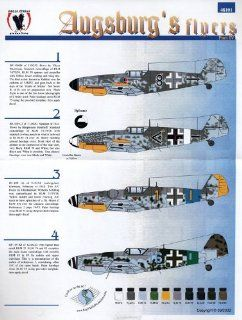 Bf 109 G/K: Augsburg Flyers, Pt 4: JG 27, 52, 54 (1/48 decals): Toys & Games