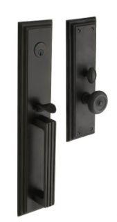 Baldwin Hardware 6542.102.ENTR Tremont set Trim Front Door Handle