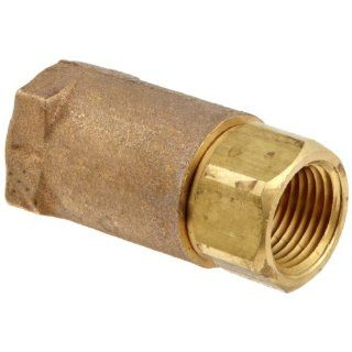 Dixon Brass Ball Cone Check Valve, NPT Female: Industrial & Scientific