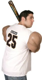 Adult Juiced Body Muscle Halloween Costume: Clothing