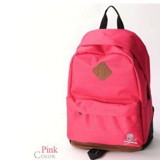 Backapck Women girl lady fluorescent light backpack Nylon Color : Pink BB 035: Everything Else