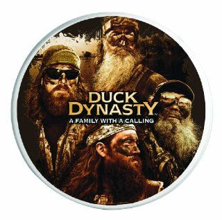 A&E Television Networks Officially Licensed Duck Dynasty 4 pack Ceramic Decorative Coasters   Wall Clocks