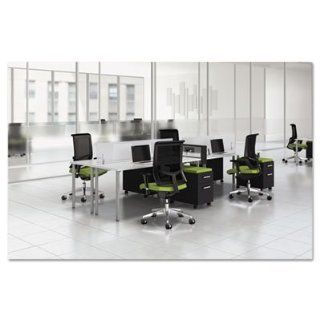 E5 Four Person Workstation With Beltway, 123 1/2W X 60D X 29 1/2H, Coc: Office Products