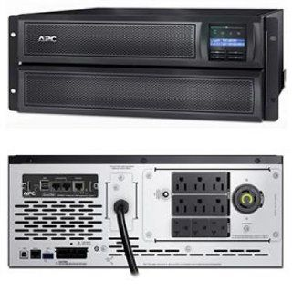 APC Smart UPS X 2000VA Rack/Tower LCD 100 127V with Network Card : Surge Protectors : Camera & Photo