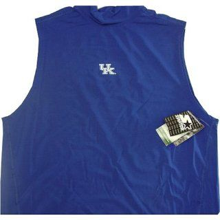 Kentucky Wildcats Blue Dristar Sleeveless Muscle T shirt Medium : Sports Fan T Shirts : Sports & Outdoors