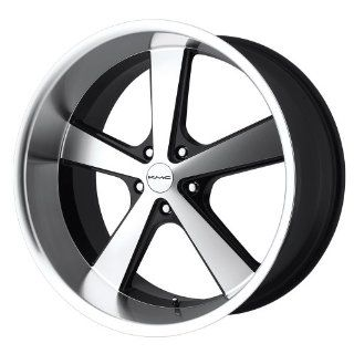 "KMC Nova KM701 Gloss Black Wheel with Machined Face (20x10""/5x127mm): Automotive"