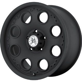 """American Outlaw Patrol Matte Black Wheel with Painted Finish (17x8.5""""/5x127mm) Automotive"""